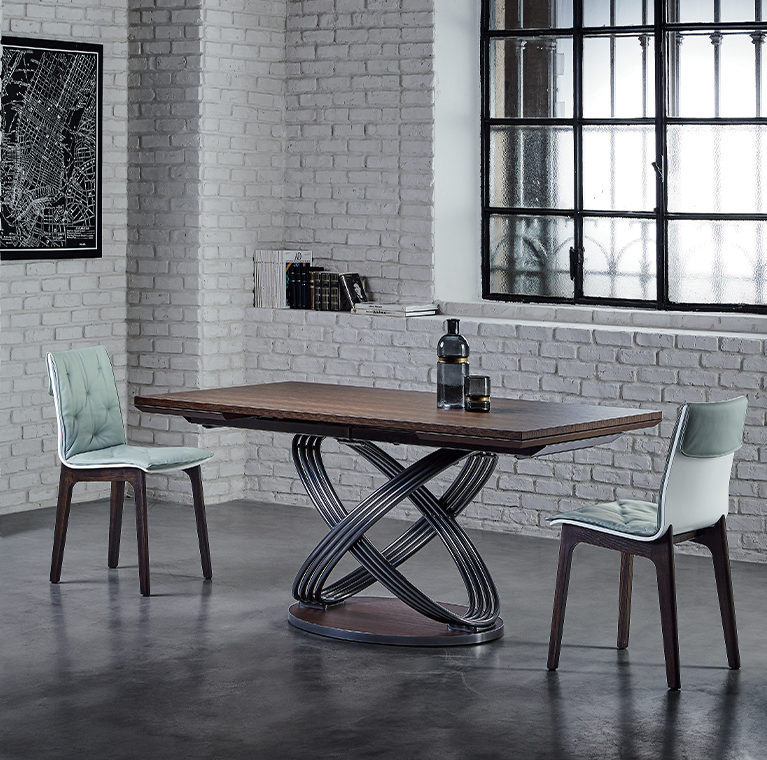 Fusion Table with Chairs
