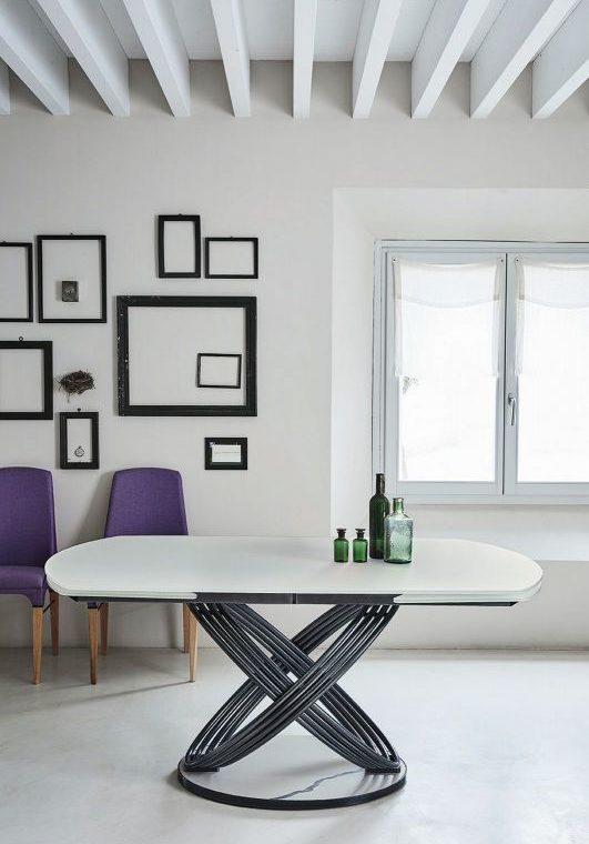 Fusion Table with Chairs frames are also visible in the photos