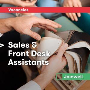 Sales & Front Desk Assistants