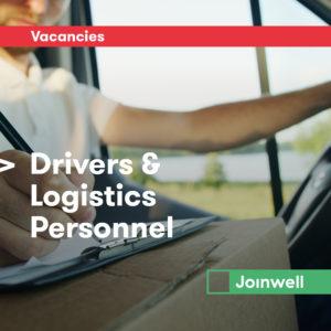 Drivers Logistics Personnel FB Vacancy